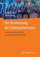 Die Vermessung des Datenuniversums: Datenintegration mithilfe des Statistikstandards SDMX