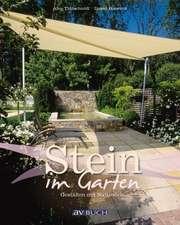 Stein im Garten