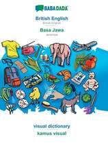 BABADADA, British English - Basa Jawa, visual dictionary - kamus visual