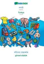 BABADADA, Marathi (in devanagari script) - Türkçe, visual dictionary (in devanagari script) - görsel sözlük