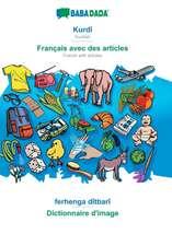 BABADADA, Kurdî - Français avec des articles, ferhenga dîtbarî - Dictionnaire d'image