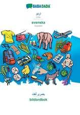 BABADADA, Urdu (in arabic script) - svenska, visual dictionary (in arabic script) - bildordbok