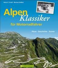 Alpenklassiker für Motorradfahrer