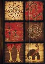 "Premium Address Book Big ""African Art - Mosaik III"""