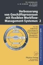 Verbesserung von Geschäftsprozessen mit flexiblen Workflow-Management-Systemen 2: Von der Sollkonzeptentwicklung zur Implementierung von Workflow-Management-Anwendungen
