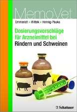Dosierungsvorschläge für Arzneimittel bei Rindern und Schweinen