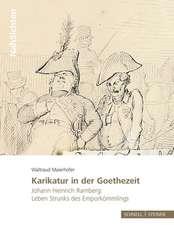 Karikatur in der Goethezeit
