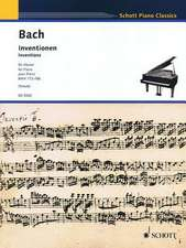 Inventions, Bwv 772-786:  Piano