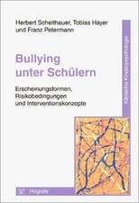 Bullying unter Schülern