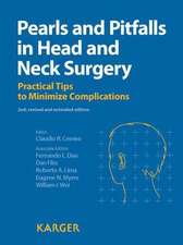 Pearls and Pitfalls in Head and Neck Surgery