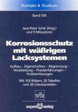 Korrosionsschutz mit wäßrigen Lacksystemen