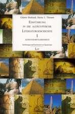 Einführung in die altägyptische Literaturgeschichte 1