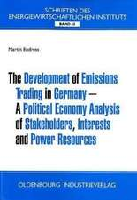 The Development of Emission Trading in Germanay