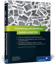 Preisfindung und Konditionstechnik in SAP ERP