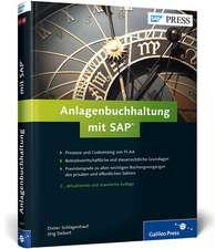 Anlagenbuchhaltung mit SAP