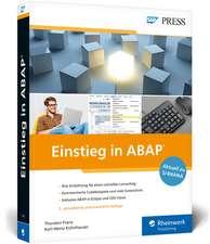 Einstieg in ABAP
