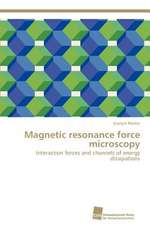Magnetic Resonance Force Microscopy:  An Immunmodulatory Setscrew