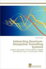 Interacting Quantum-Dissipative Tunnelling Systems
