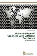 The Interaction of Graphene with Different Substrates