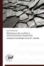 Matériaux de mullite à microstructure organisée