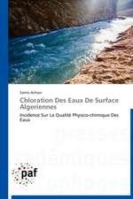 Chloration Des Eaux De Surface Algeriennes