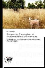 Ressources fourragères et représentations des éleveurs