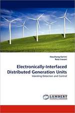 Electronically-Interfaced Distributed Generation Units