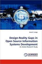 Design-Reality Gaps in Open Source Information Systems Development