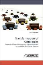 Transformation of Ontologies