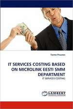 It Services Costing Based on Microlink Eesti Smm Department