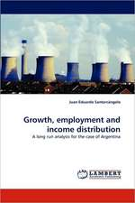 Growth, employment and income distribution