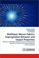 Multilayer Woven Fabrics: Impregnation Behavior and Impact Properties