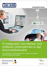 IT- Integration von kleinen und mittleren Unternehmen in der Automobilindustrie