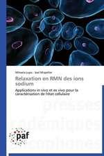 Relaxation en RMN des ions sodium