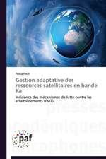 Gestion adaptative des ressources satellitaires en bande Ka