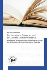 Performance financiere et sociale de la microfinance