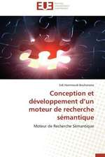 Conception Et Developpement D'Un Moteur de Recherche Semantique:  Mission Impossible?