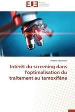 Interet Du Screening Dans L'Optimalisation Du Traitement Au Tamoxifene:  Mesure Et Determinants