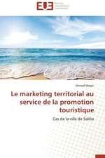 Le Marketing Territorial Au Service de La Promotion Touristique:  Quels Enseignements Pour L'Afrique