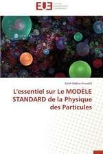L'Essentiel Sur Le Modele Standard de La Physique Des Particules:  Des Freres Pas Comme Les Autres