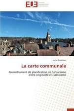 La Carte Communale:  Defis Et Enjeux Dans Le Processus de Decentralisation