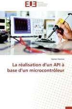 La Realisation D'Un API a Base D'Un Microcontroleur:  Fromage Frais