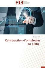 Construction D'Ontologies En Arabe