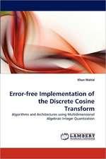 Error-free Implementation of the Discrete Cosine Transform