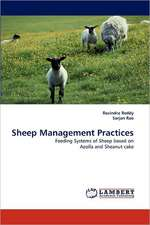 Sheep Management Practices