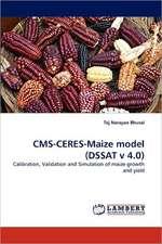 CMS-CERES-Maize model (DSSAT v 4.0)