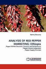 Analysis of Red Pepper Marketing: Ethiopia
