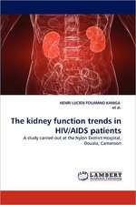 The kidney function trends in HIV/AIDS patients