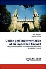Design and Implementation of an Embedded Firewall