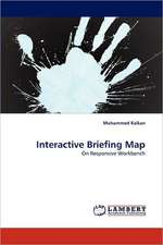 Interactive Briefing Map